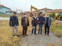 Yerköy Belediye yeni park çalışmalarına başladı