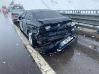 AK Parti Nevşehir milletvekili Menekşe trafik kazası geçirdi
