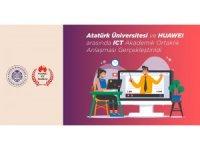 Atatürk Üniversitesi ve Huawei arasında ICT akademik ortaklık anlaşması yapıldı