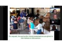 Sanal turla zeytinyağı fabrikası müzesini gezdiler