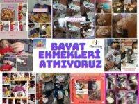 Kulu'da öğretmenlerden 'bayat ekmekleri atmıyoruz' projesi