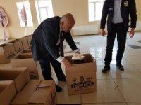 Bayat Belediyesi'nden 250 aileye yardım