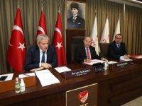Türk dili konuşan ülkelerin futbol federasyonları arasında iş birliği anlaşması imzalandı