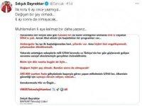 Selçuk Bayraktar'dan son günlerde çıkan ambargo haberlere dair açıklama