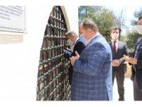 Başkanlardan Eyyüb Nebi ziyareti