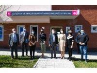 Başkan Ataç, Çocuk Senfoni Orkestrası'nın eğitim merkezini ziyaret etti