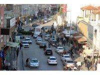 Kilis'te iftara yetişmek isteyenlere polis desteği