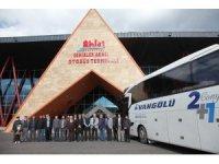 Ahlat'ın yeni otobüs terminali hizmete açıldı