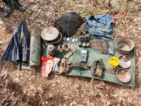 Tatvan'da el bombası ve mühimmat ele geçirildi