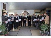 Hafızlığı Muhafaza Hizmet İçi Kursuna katılanlara başarı belgeleri verildi