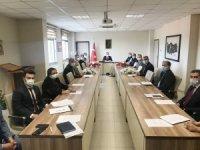 Burhaniye'de uyuşturucu ile mücadele toplantısı yapıldı