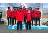 Van Büyükşehir Belediyesi sporcularından büyük başarı