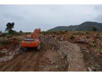 Alanya'nın Cikcilli Mezarlığı genişletiliyor