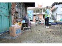 Fatsa'da karantinadaki 400 haneye gıda paketi