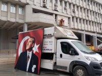 Erdoğan'ın gelişi öncesinde Valilik binasında yenileme çalışmaları başladı