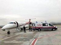 Uçak ambulanslar bebekler için havalandı