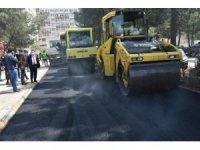 Bağlar Belediyesinden pandemi kahramanlarına asfalt hizmeti