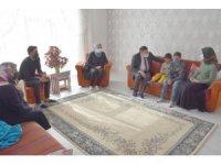 Acılı ailenin sessiz feryadını Başkan Beyoğlu duydu