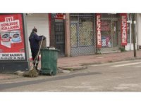Zonguldak'ta kısıtlamada sokaklar boş kaldı