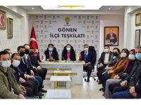 AK Parti il Başkanı Başaran'dan Sarıköy'e doğalgaz müjdesi