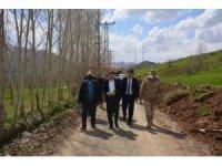 Kaymakam Güven'den köy ziyaretleri