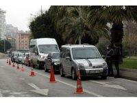 Samsun'da kısıtlamada sokaklar boş kaldı