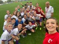 Ereğlili kadın futbolcular ilk maçta 3 puan aldı