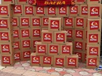 Galatasaray taraftar grubundan 200 aileye Ramazan yardımı