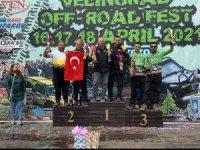 Bursa'nın takımı Teleferik Ofroad ekibi, Avrupa'ya damga vurdu