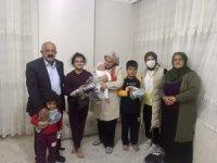 Türkiye Gaziler ve Şehit Aileleri Vakfı Midyat Şubesi şehitler haftası nedeniyle ihtiyaç sahiplerine giyecek yardımı yaptı