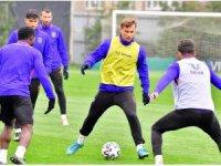 Başakşehir'de Kasımpaşa maçı hazırlıkları başladı