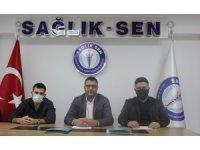 Sağlık-Sen İzmir 1 No'lu Şubesi'nden iki doktorun darp edilmesine sert tepki