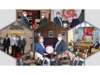 Savran, ilçe ve belde belediye başkanlarını ziyaret etti