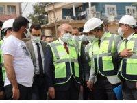 Mardin Valisi Demirtaş, içme suyu ve altyapı çalışmalarını yerinde inceledi