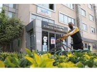 Mezitli'ye bisiklet durakları yerleştirilmeye başlandı