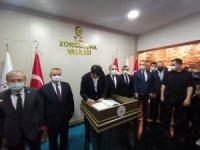 Çevre ve Şehircilik Bakanı Murat Kurum Zonguldak'ta