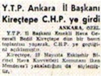 Cumhurbaşkanı Erdoğan'ın bahsettiği General Kireçtepe'nin imzası ile yayınlanan 27 Mayıs yalanı