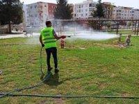 Viranşehir'de haşerelerle mücadele başladı