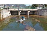 Bursa'da barajlarda hummalı temizlik