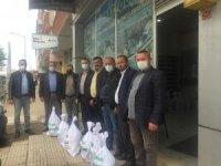 Çarşamba Ziraat Odası'ndan 800 çiftçiye Ramazan yardımı