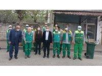Kılınç'tan temizlik personeline ziyaret