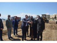 Sinop'un vitrini olacak Sabahattin Ali Etkinlik Alanı'nda çalışmalar hızlandı