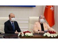 Vedat Bilgin Çalışma ve Sosyal Güvenlik Bakanlığı görevini devraldı