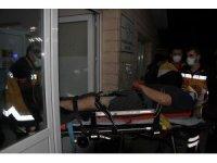 Kamyonet tırla çarpıştı: 1 ağır yaralı