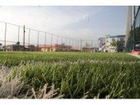 Şanlıurfa kırsalında yapılan Millet bahçesi açılışa hazırlanıyor