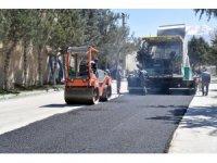 Isparta'da sanayi sitesi asfaltlanıyor