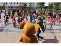 Manavgat ve Serikli çocuklar 23 Nisan coşkusunu yaşadı