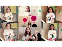 Tepebaşı'nın çocuklarından 23 Nisan'a özel klip