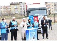 Erzurum Din Görevlileri Derneği, Ramazan'da İdlib'i unutmadı