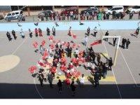 Gazi Meclis için 101 balon gökyüzüyle buluştu